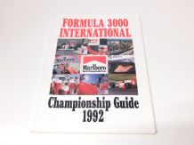 FORMULA 3000 INTERNATIONAL Championship Guide 1992